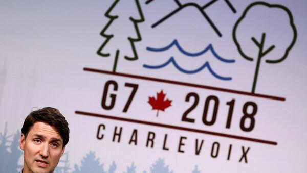Logo de G7 - Sputnik Mundo