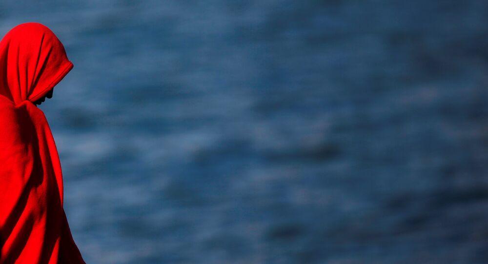 Un migrante (imagen referencial)