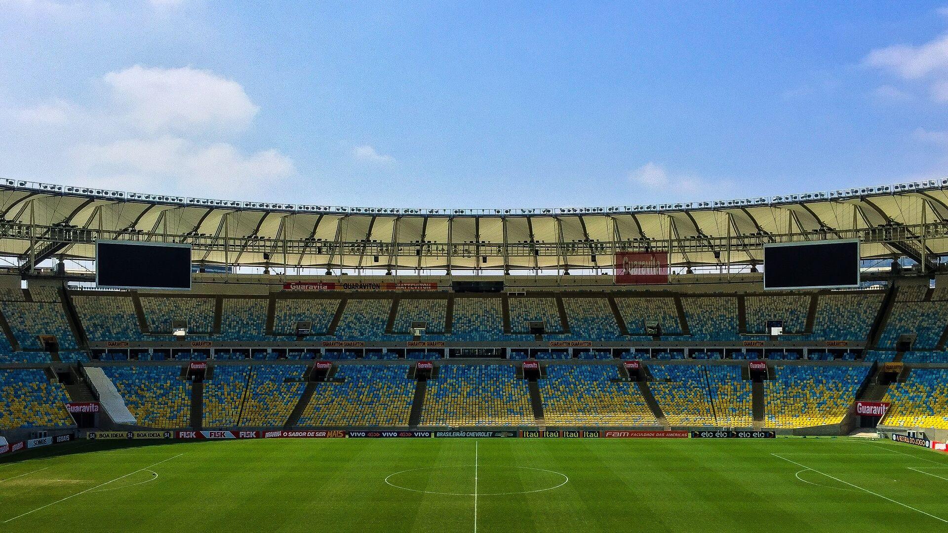 Campo de fútbol (imagen referencial) - Sputnik Mundo, 1920, 19.07.2021