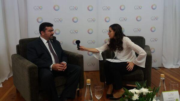 Subsecretario de Planeación y Transición Energética de México, Leonardo Beltrán. - Sputnik Mundo