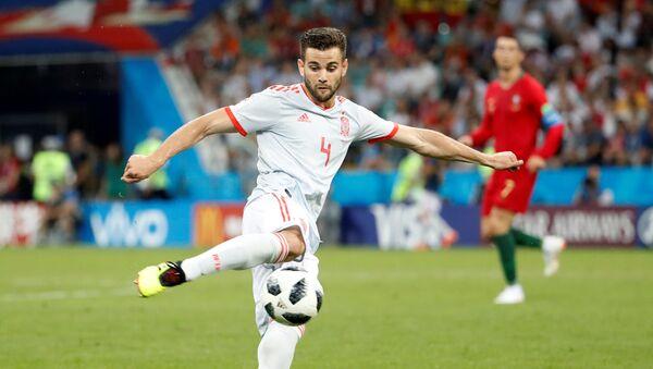 Nacho Fernández, futbolista de la selección española - Sputnik Mundo