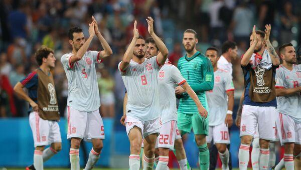 La selección española de fútbol - Sputnik Mundo