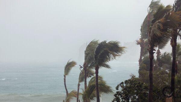 Situación tras el paso del huracán Bud en Los Cabos, México - Sputnik Mundo