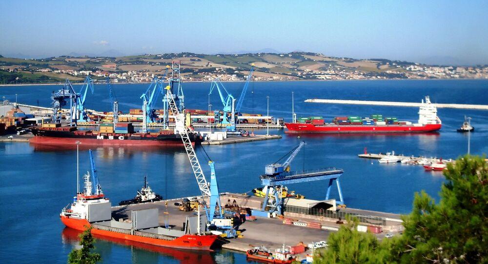 Un puerto italiano (archivo)