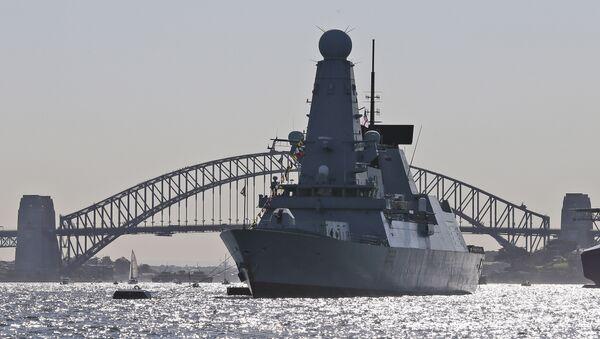 El destructor HMS Daring - Sputnik Mundo