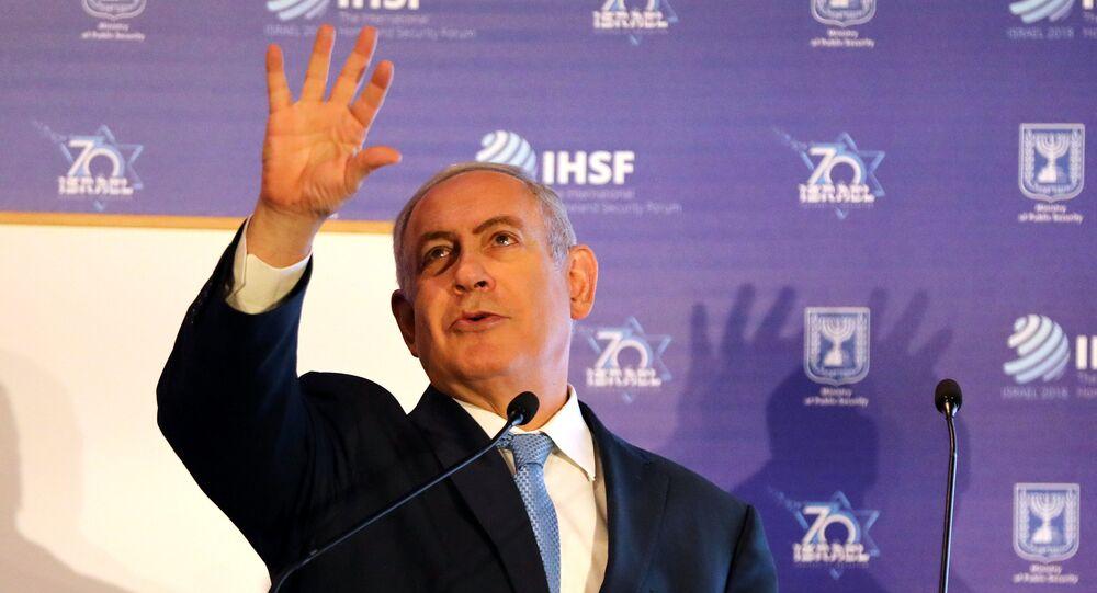 Benjamín Netanyahu, primer ministro de Israel