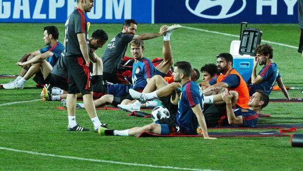 Un entrenamiento de la selección española en Krasnodar, Rusia - Sputnik Mundo