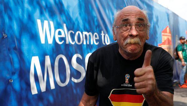 Hubert Wirth, hincha alemán - Sputnik Mundo