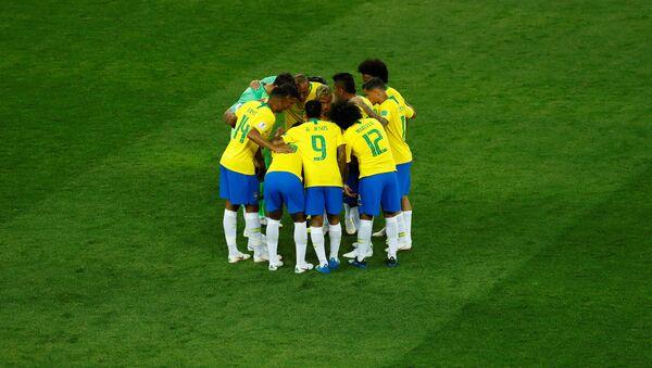 La selección de Brasil - Sputnik Mundo