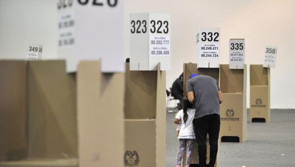 Elecciones en Colombia - Sputnik Mundo