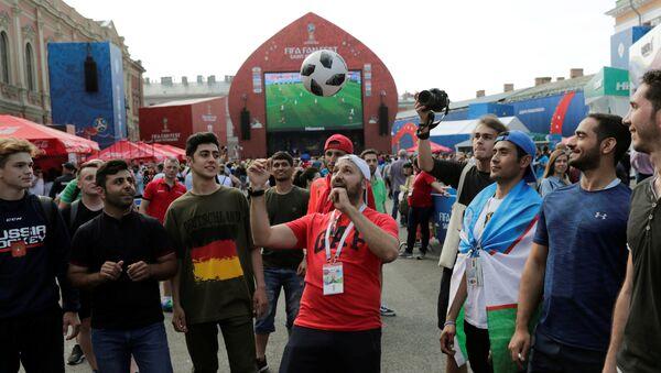 Los aficionados al fútbol - Sputnik Mundo