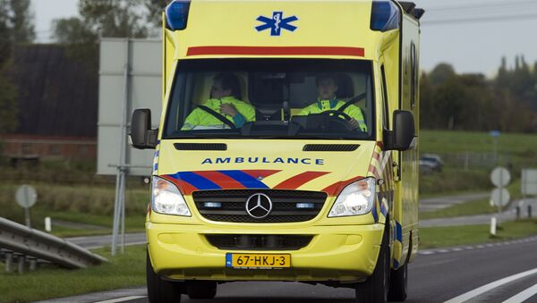 Ambulancia de Países Bajos - Sputnik Mundo