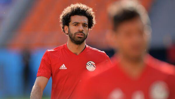 Mohamed Salah, el delantero egipcio - Sputnik Mundo