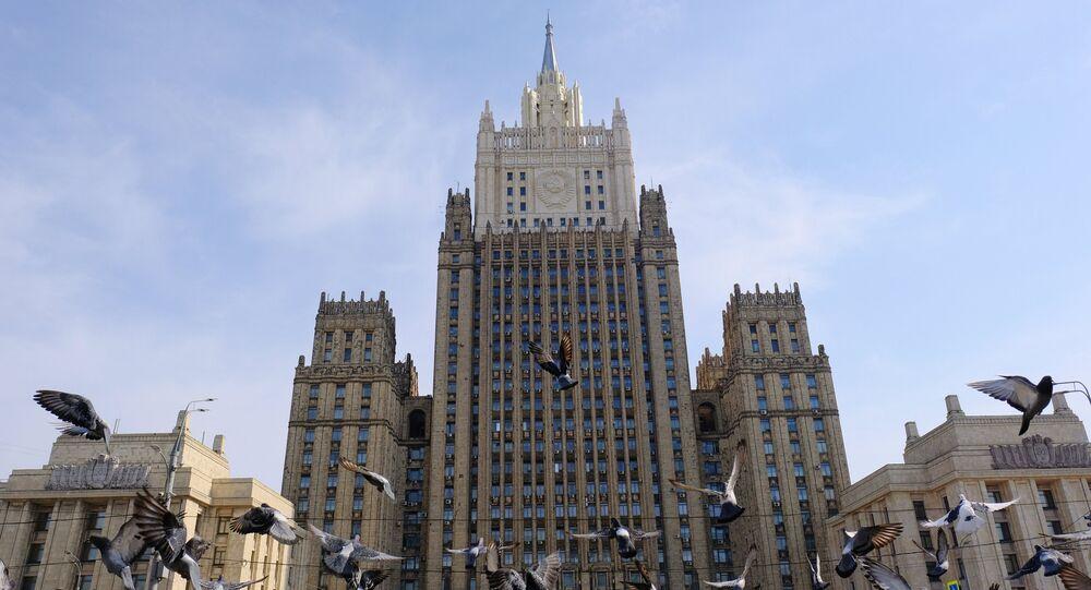 El Ministerio de Relaciones Exteriores de Rusia (imagen referencial)