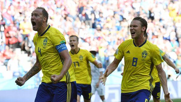 Los jugadores de la selección de Suecia - Sputnik Mundo