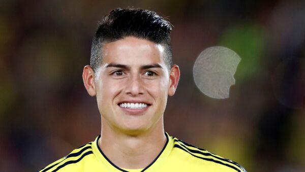 James Rodriguez, líder de la selección colombiana - Sputnik Mundo