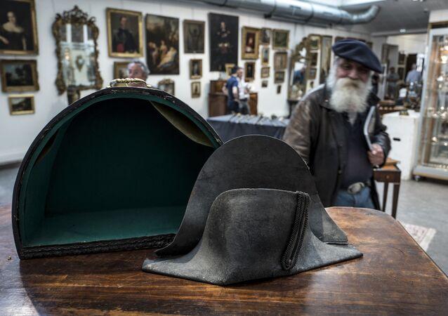 El sombrero de Napoleón Bonaparte