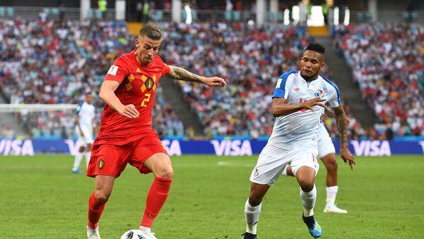 El partido entre Bélgica y Panamá - Sputnik Mundo