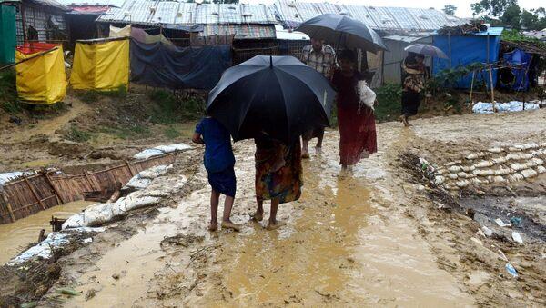 Situación en Cox's Bazar, al sur de Bangladés - Sputnik Mundo