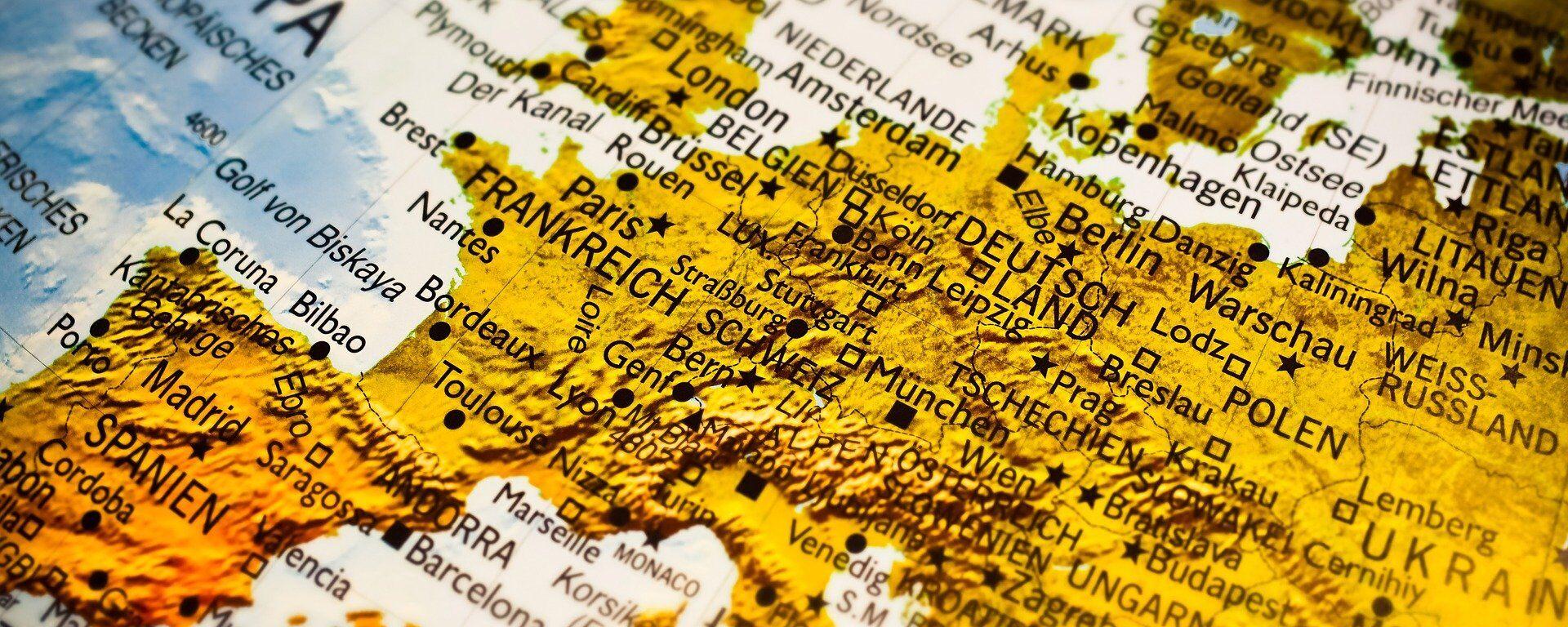 Mapa de Europa - Sputnik Mundo, 1920, 08.05.2020