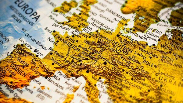 Mapa de Europa (imagen referencial) - Sputnik Mundo