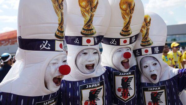 Hinchas japoneses - Sputnik Mundo