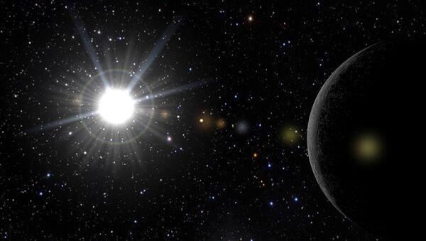 Un sistema estelar (imagen referencial) - Sputnik Mundo