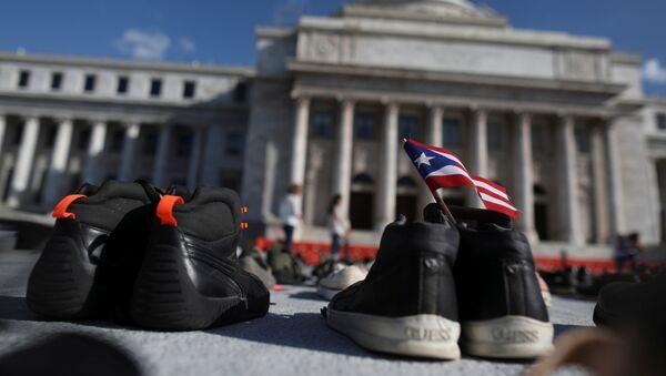 Un homenaje a las víctimas del Huracán María en Puerto Rico - Sputnik Mundo
