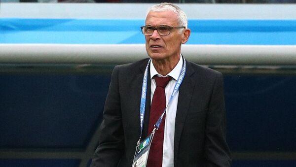 Héctor Cúper, entrenador de la selección de Egipto - Sputnik Mundo