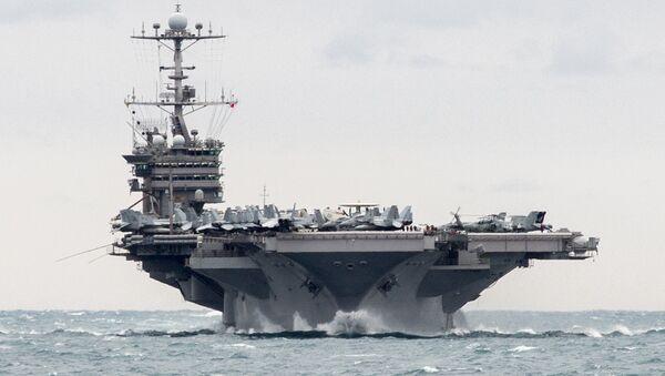 Portaviones USS Harry S. Truman - Sputnik Mundo