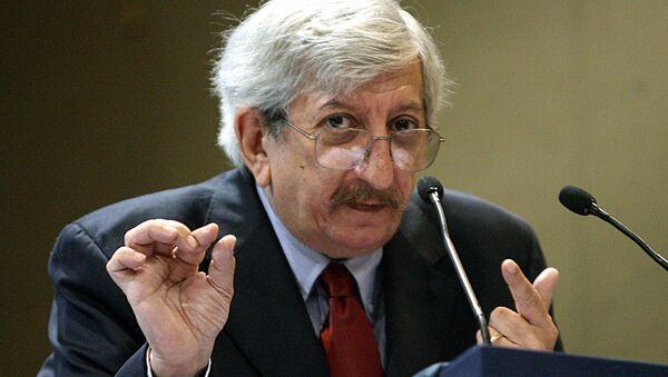 Dante Caputo, excanciller de Argentina (archivo) - Sputnik Mundo