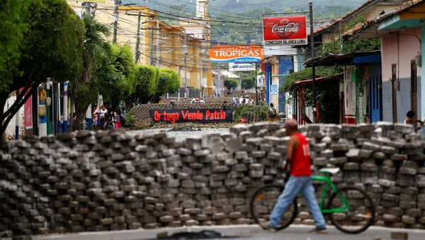 La situación en Nicaragua - Sputnik Mundo
