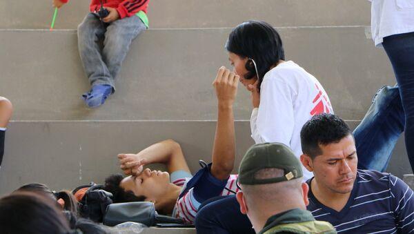 Equipo de urgencias de Médicos Sin Fronteras (MSF) en Colombia. - Sputnik Mundo