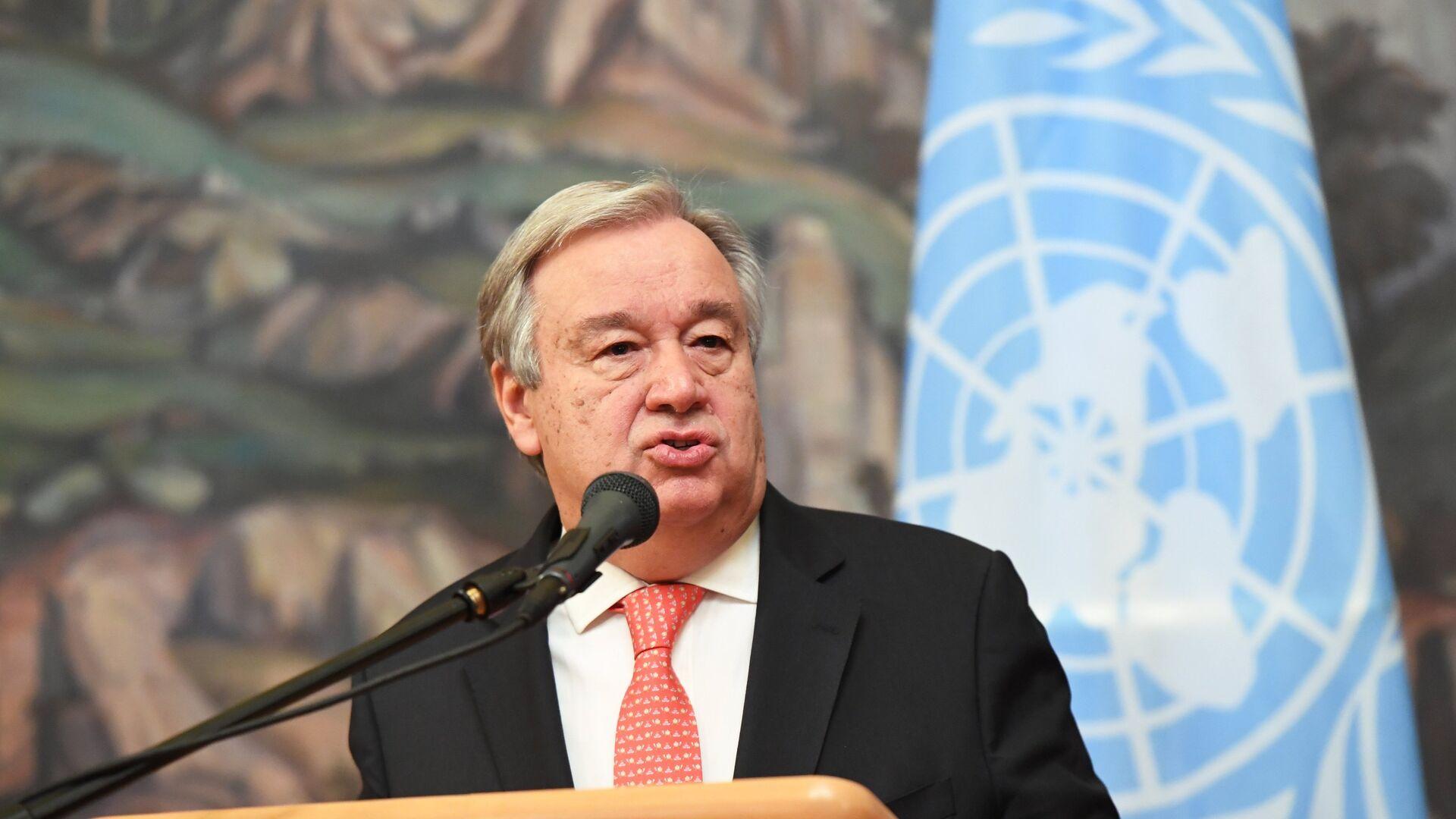 Antonio Guterres, secretario general de la ONU - Sputnik Mundo, 1920, 01.07.2020