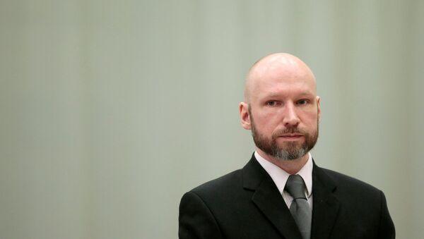 Anders Breivik, autor de los ataques terroristas que causaron 77 muertos en Oslo y Utoya en 2011 - Sputnik Mundo