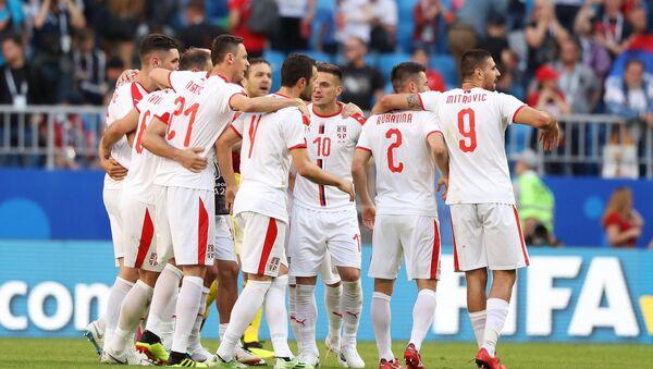 La selección de Serbia (archivo) - Sputnik Mundo