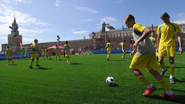 El parque en la Plaza Roja de Moscú - Sputnik Mundo