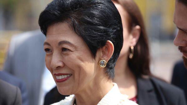 Hisako Takamado, la princesa japonesa durante su visita a Rusia - Sputnik Mundo