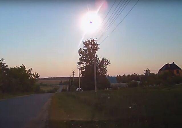 Una explosión inusual se produce en el cielo de varias ciudades rusas (vídeos)