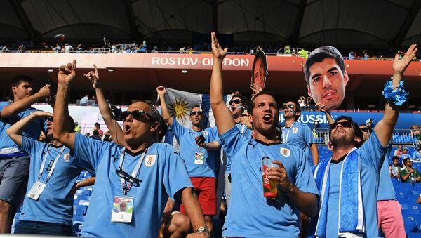Hinchas uruguayos en Rostov del Don - Sputnik Mundo