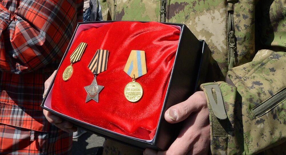 Medallas soviéticas (imagen referencial)