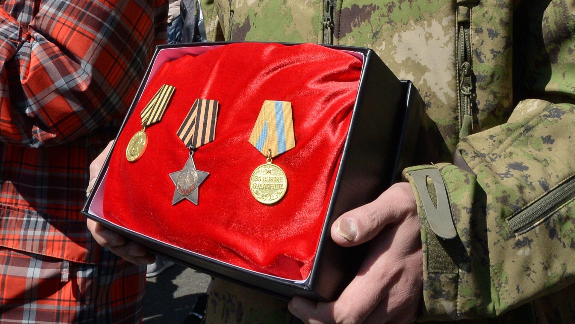 Medallas soviéticas (imagen referencial) - Sputnik Mundo, 1920, 21.06.2018