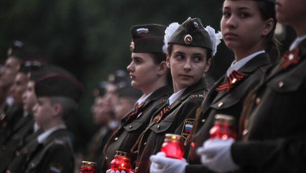 Así conmemoraron las ciudades rusas el inicio de la Gran Guerra Patria - Sputnik Mundo
