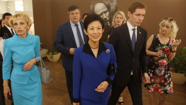 Hisako Takamado, princesa japonesa durante su visita a Rusia - Sputnik Mundo