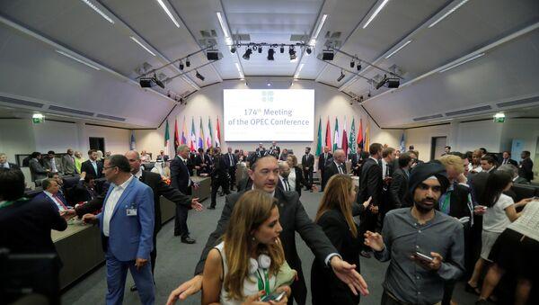 La cumbre de los países de OPEP en Viena - Sputnik Mundo