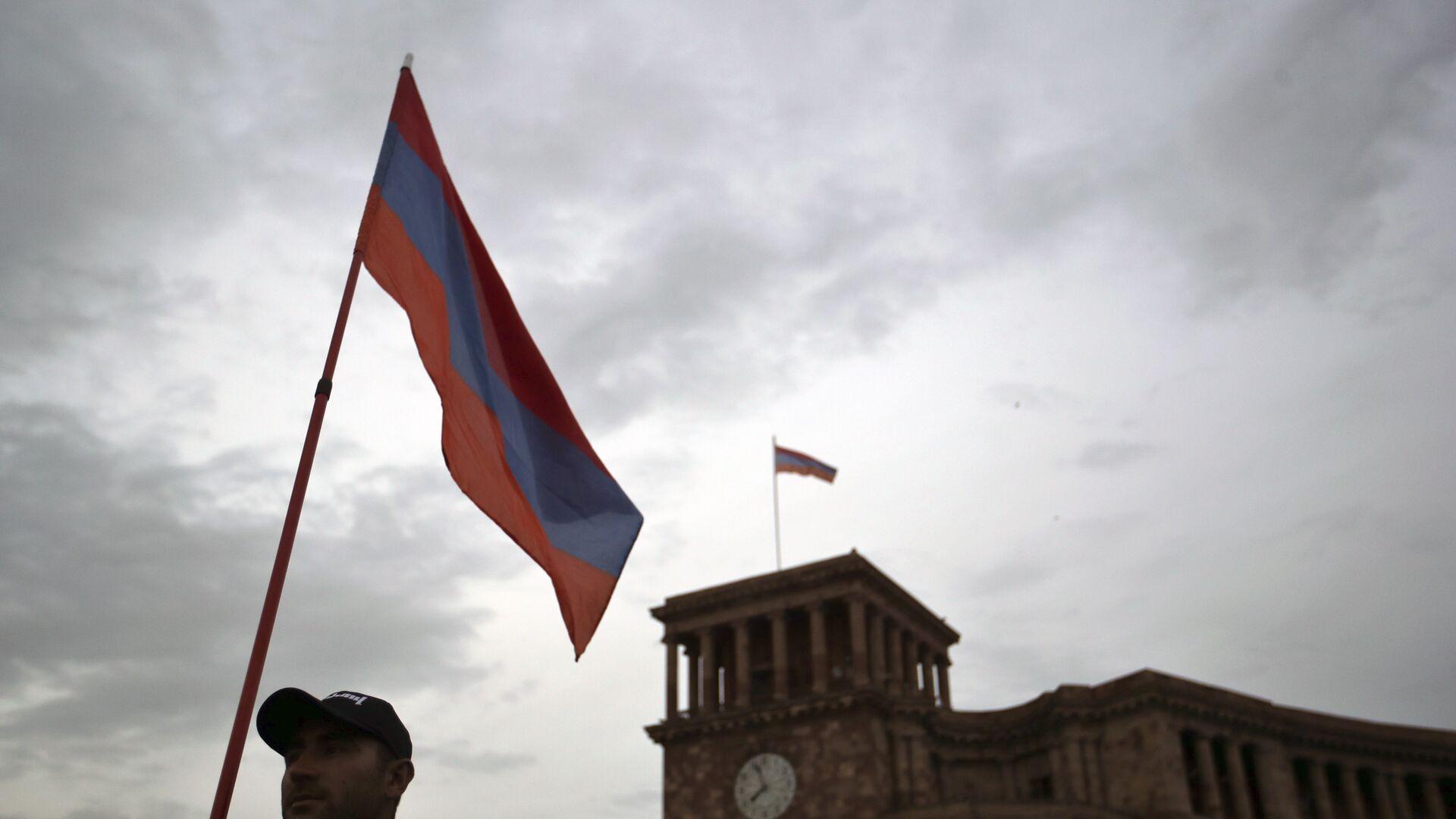 Bandera de Armenia - Sputnik Mundo, 1920, 01.03.2021