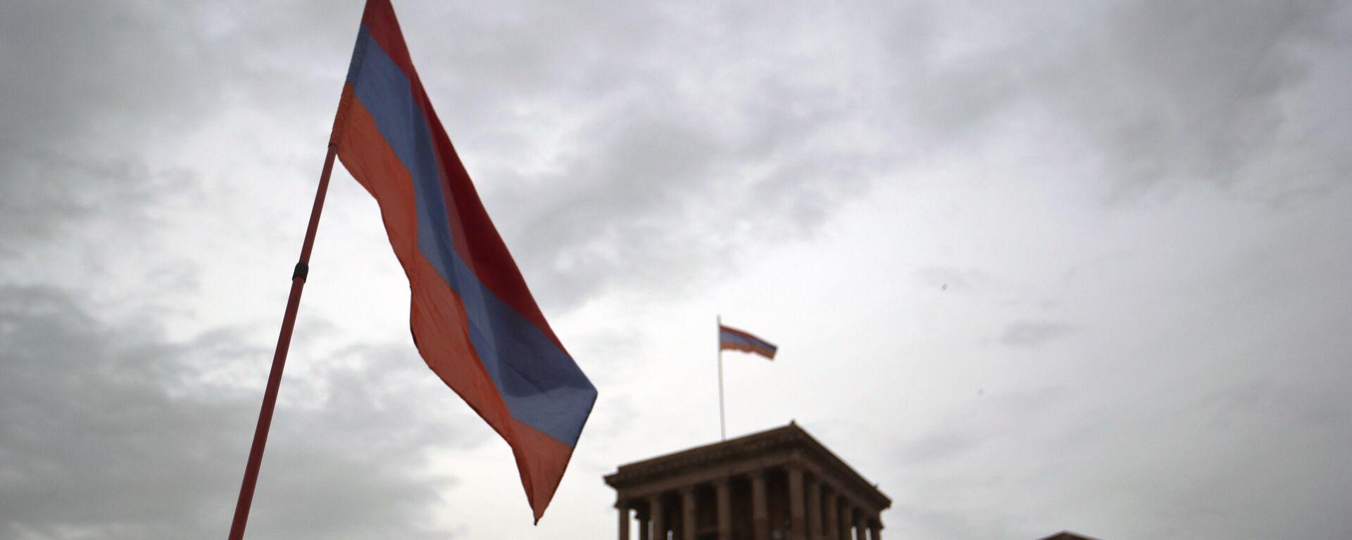 Bandera de Armenia - Sputnik Mundo, 1920, 18.02.2021