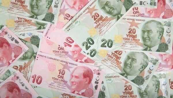 Lira turca - Sputnik Mundo