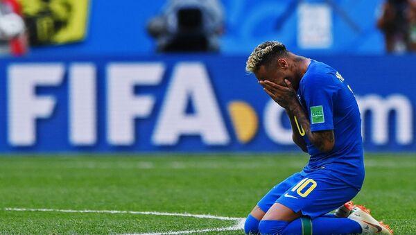 Neymar Jr., futbolista de la selección brasileña de fútbol - Sputnik Mundo
