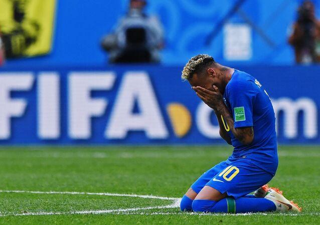 Neymar Jr., futbolista de la selección brasileña de fútbol